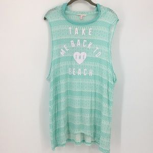VS Hooded Cover Up